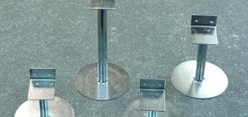 Регулируемые опоры для лаг и плитки
