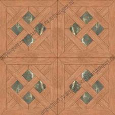 Модульный паркет Artparquet с камнем 9-026