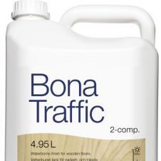 Паркетный лак BONA Трэффик матовый  двухкомпонентный 4,95л