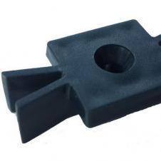 Кляймер пластиковый универсальный для террасной доски Deckron,Ecodeck,Darvolex,Holzhof(шовная)