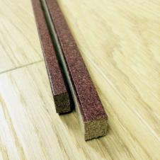Пробковый компенсатор мелкое зерно покрытие лак 910х7х15мм