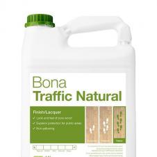 Паркетный лак BONA Traffic Natural двухкомпонентный на водной основе 4,95л